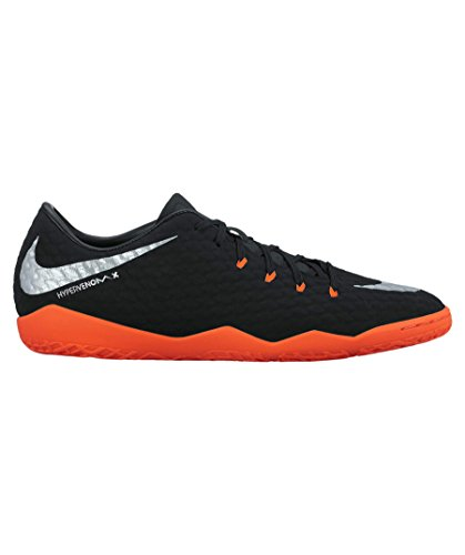 Scarpe Indoor Nike Mens Hypervenomx Phelon Iii - (nero / Argento Met)