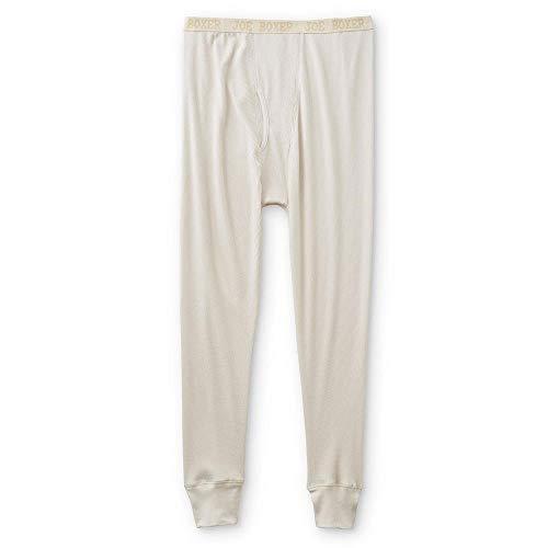 Joe Boxer Men's Thermal Pants Size 4X Cream Ivory