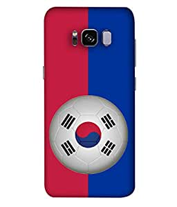 ColorKing Football South Korea 09 Multi Color shell case cover for Samsung S8 Plus