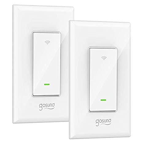Amazon.com: Interruptor de luz inteligente, interruptor de ...