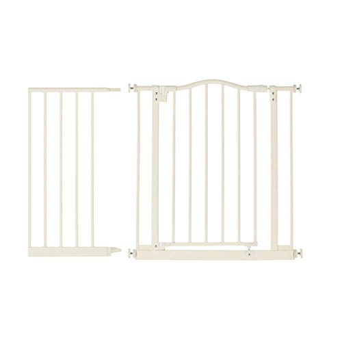 North States Portico Arch Metal Baby Child Pet Gate with 5 B