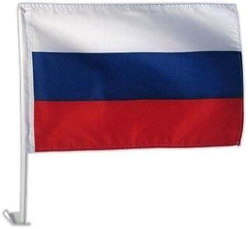 Autofahne Autoflagge Russland 30 X 45 Cm Spielzeug