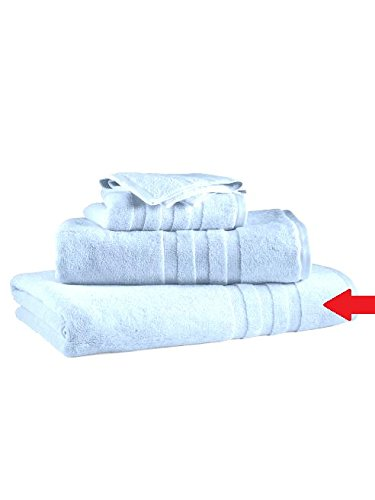 Kess InHouse Monika Strigel Be Happy Aqua Simple Blue Round Beach Towel Blanket