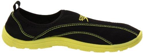 Speedo Men's Surfwalker Pro All-Purpose Shoe,Black/Lime,11 M US