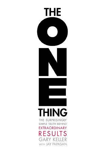 Pdf Money The ONE Thing: The Surprisingly Simple Truth Behind Extraordinary Results