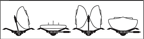 SportRack Mooring 4-in-1 Kayak & SUP Carrier