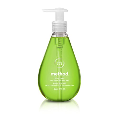 Method Gel Hand Soap, Juicy Pear, 12 Ounce (Pack 6)