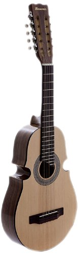 Harmonia C-4500-NT Acoustic Cuatro Guitar, Natural Tennessee