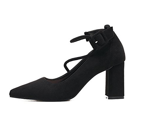 Sandales Inconnu Mmsg00123 Noir 1TO9 Femme Inconnu Compensées 1TO9 4ItqAw56