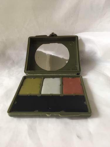 - Bobbie Weiner 4 Color Woodland Face Paint Kit, Camouflage
