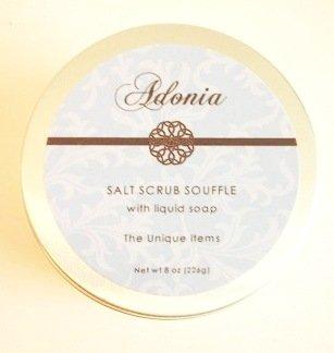 Adonia Waterlily et Lotus Gommage au sel Soufflé - 8 oz.