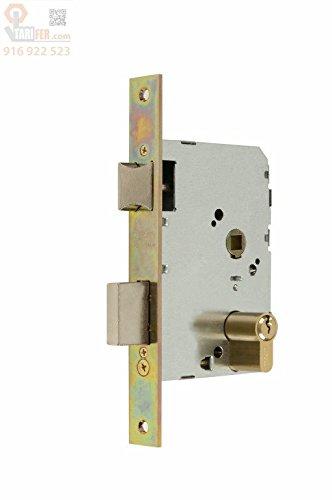 MCM - Cerradura Embutir F/Latonado Mcm 45 Mm
