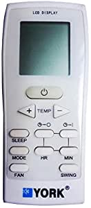 remote control for York aircondition