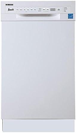 ZCL Avanti DW1831D0WE - Lavavajillas (45,72 cm), Color Blanco ...