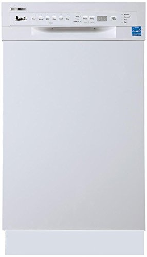 Avanti DW1831D0WE 18'' Built In Dishwasher White by ZCL