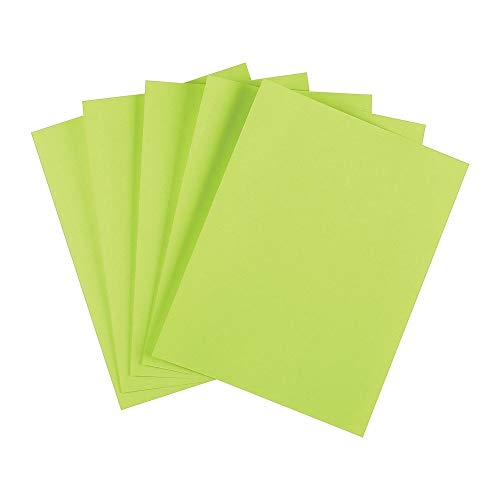 (Staples 733093 Brights 24 Lb. Colored Paper Green 500/Ream)