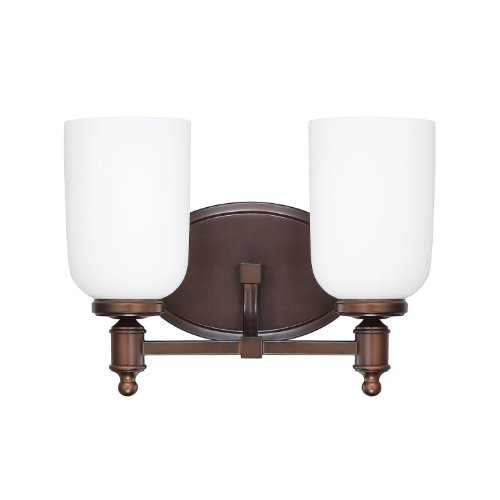 (Capital Lighting 8442BB-102 Covington Two Light Vanity)