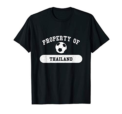 - Property of Thailand Athletics | Soccer and Futbol T-Shirt