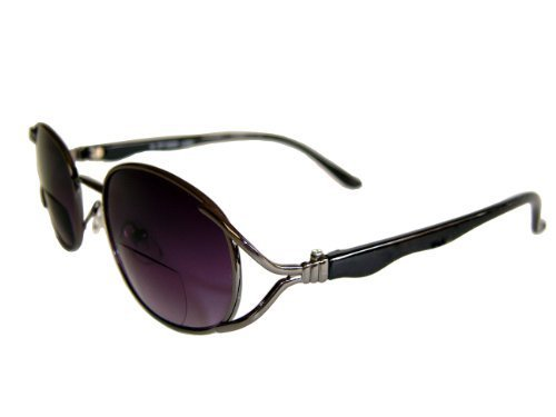 'LUCIA' Designer Ladies Bifocal Sunglasses + 2.00 By EyeSpecialEyes. by - Lucia Sunglasses
