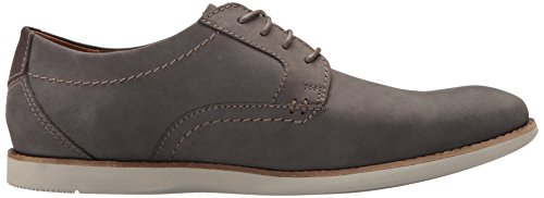 Oxford Grey Plain Men's Nubuck Raharto CLARKS qfaPtvq