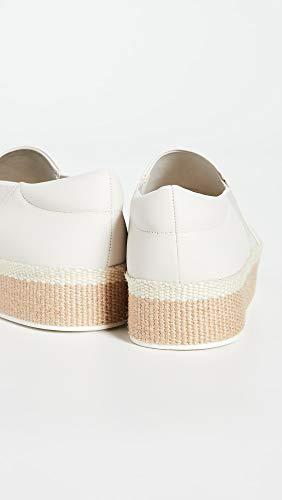 Vince Women's Wilden Slip On Sneakers, Off White, 9 Medium US