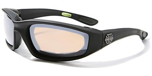 Amazon.com: Night Driving Riding Padded Motorcycle Glasses 011 ...
