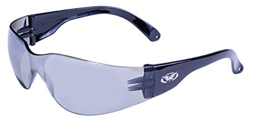 Global Vision Eyewear Rider Safety Glasses, Flash Mirror Lens