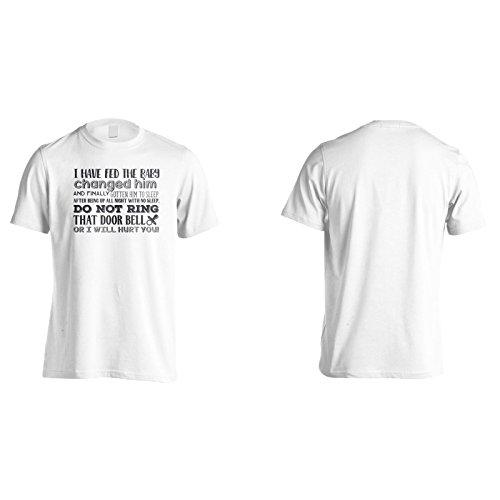 Ich Habe Das Baby Gefüttert, Hat Ihn Gewechselt Und Schließlich Bekommen Herren T-Shirt k708m