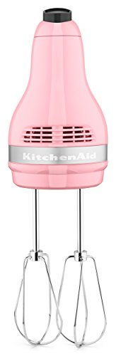 KitchenAid KHM512GU Ultra Power 5-Speed Hand Mixer, Guava Glaze