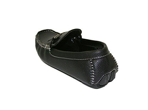 Happy Bull Heren Klassieke Bestuurder Mocassin Slip Op Antislip Loafers Schoenen (payne-03) Zwart