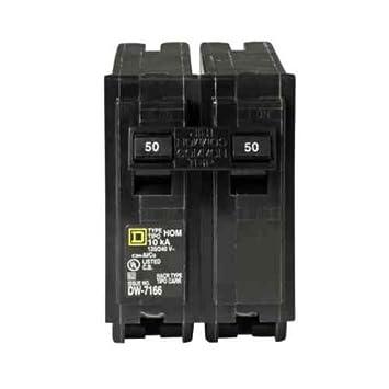 Su una fuente hom250cp 50-Amp Plug-on con dos polos circuit ...
