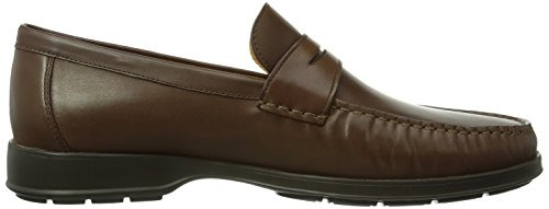 Mephisto HOWARD DESERT 9251 DARK BROWN - Zapatillas de casa de cuero hombre marrón - Braun (DARK BROWN)