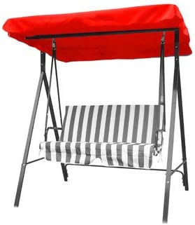 2 /& 3 SEATER GARDEN SWING CHAIR REPLACEMENT CANOPY SPARE COVER SHOWER RESISTANT