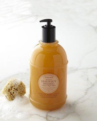 Perlier Body Honey Miel Bath and Shower Cream 3L - 101.4 fl oz Shower Gel