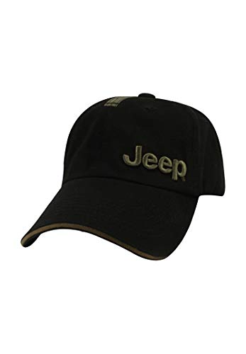 Jeep Black and Olive Cap (For Jeep Men Hats)