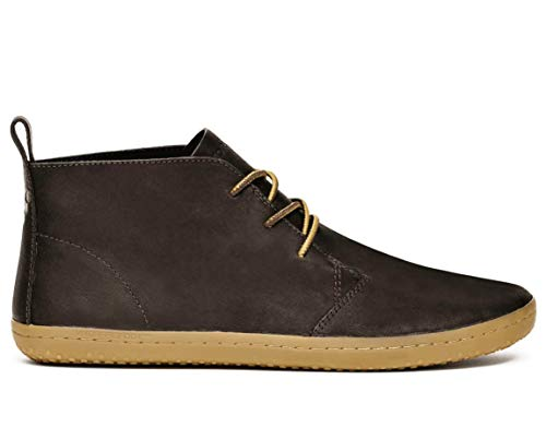 Vivobarefoot Men's gobi ii m Leather Walking Shoe, Brown/Hyde, 43 EU/(10-10.5) M - Medieval Moccasins