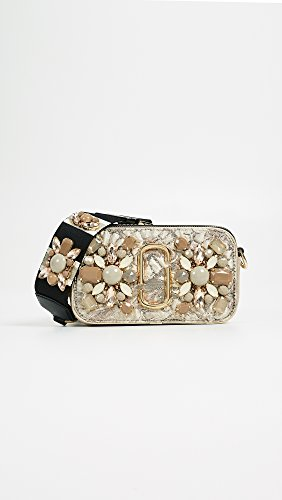 Snapshot Women's Beige Brocade in Camera Multi Floral Jacobs Bag Marc FUAxHqnBvU