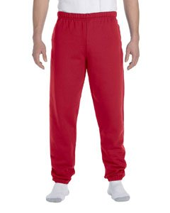 Jerzees Men's Super Sweatpants with Pocket (True Red/Small)
