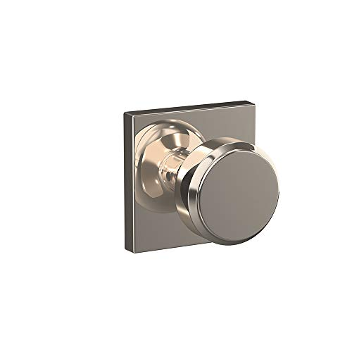 Schlage FC21BWE618COL Custom Bowery Passage & Privacy Door Knob Set with Collins Trim ()