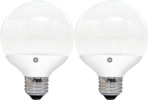 GE Lighting 26862 5-Watt LED (40-Watt replacement) 350-Lumen G25 Light Bulb with Medium Base, (350 Lumen Light)
