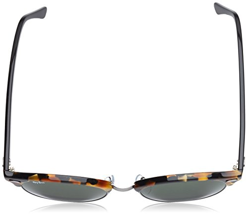Sonnenbrille Clubround Havana Ray rb spotted Noir green ban Black 4246 H45qw1T