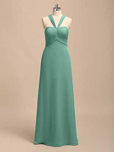 Alicepub Prom Bridesmaid Evening Women for Dress Sweetheart Formal Long Turquoise Semi Dresses Party rvqgX6rw