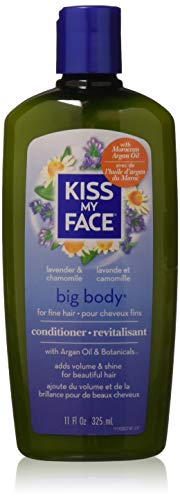 Kiss My Face Big Body Conditioner, Lavender & Chamomile 11 oz (Pack of - Aromatherapeutic Hair Conditioner