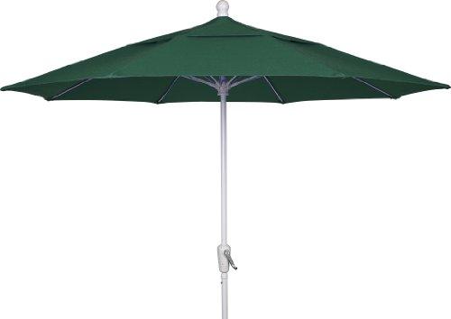 Fiberbuilt Umbrellas Patio Umbrella, 9 Foot Forest Green ...