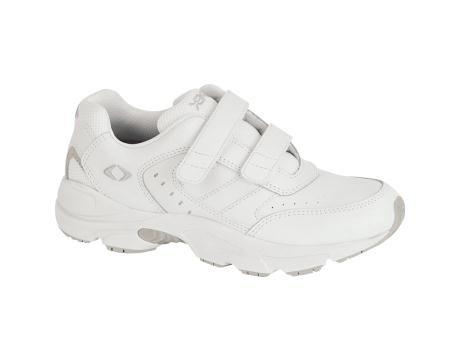 Aetrex Women's Double Velcro Walker (White 10.5 W)