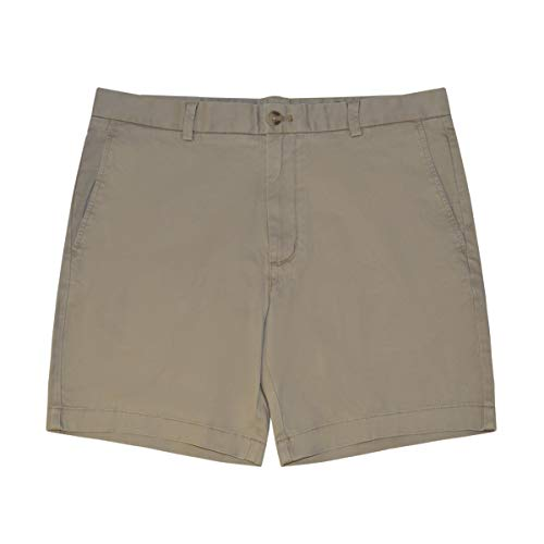 (Vineyard Vines Men's 7 Inch Stretch Breaker Shorts (Khaki, 40))