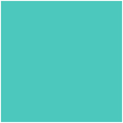 Jillson Roberts 6-Roll Count All-Occasion Matte Finish Gift Wrap Available in 22 Solid Colors, Robin's Egg Blue]()