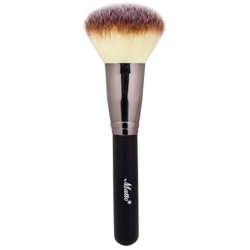 Matto Powder Mineral Brush - Makeup Brush for Large Coverage Mineral Powder Foundation Blending Buffing 1 (Best Powder Foundation)
