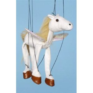 [Magical Horse (Pegasus) Small Marionette] (Costume Puppet Strings)