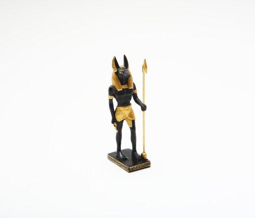 (PTC 3.5 Inch Anubis Egyptian Guardian Mythological Statue Figurine)